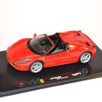 Hotwheels elite 1 43 ferrari 458 italia spider 2011 miniature gt autos autominiature01 1