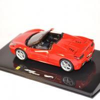Hotwheels elite 1 43 ferrari 458 italia spider 2011 miniature gt autos autominiature01 2