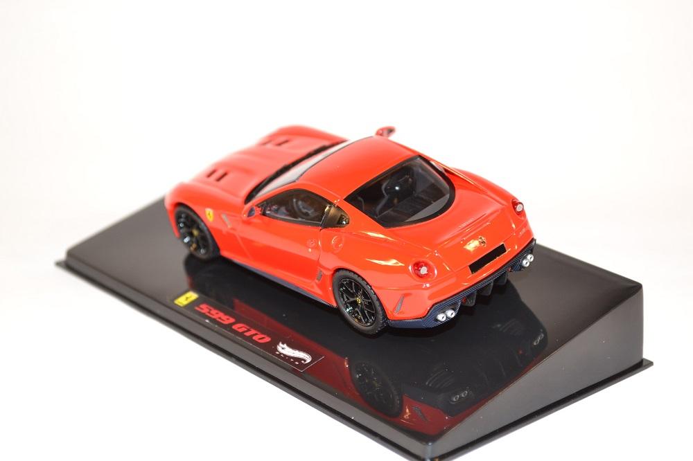 Hotwheels elite 1 43 ferrari 599 gto miniature gt automobile autominiature01 1