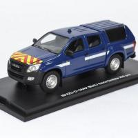 Isuzu d max intervention bleu gendarmerie alarme 1 43 0026 autominiature01 1