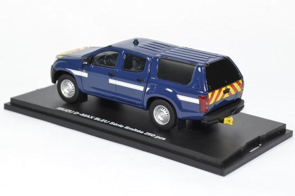 Isuzu d max intervention bleu gendarmerie alarme 1 43 0026 autominiature01 2
