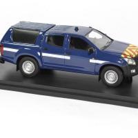Isuzu d max intervention bleu gendarmerie alarme 1 43 0026 autominiature01 3