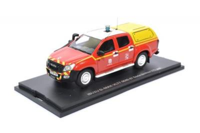 Isuzu D-max pompier SDIS 07 Ardèche