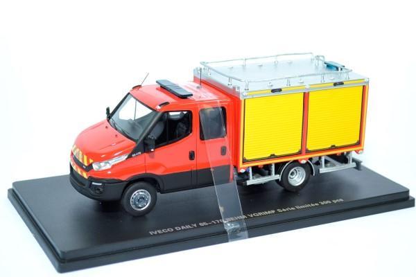 Iveco daily 2014 couble cab behm vgrimp 1 43 sapeurs pompiers alerte 0092 autominiature01 1