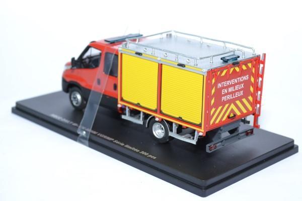 Iveco daily 2014 couble cab behm vgrimp 1 43 sapeurs pompiers alerte 0092 autominiature01 2