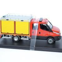 Iveco daily 2014 couble cab behm vgrimp 1 43 sapeurs pompiers alerte 0092 autominiature01 3