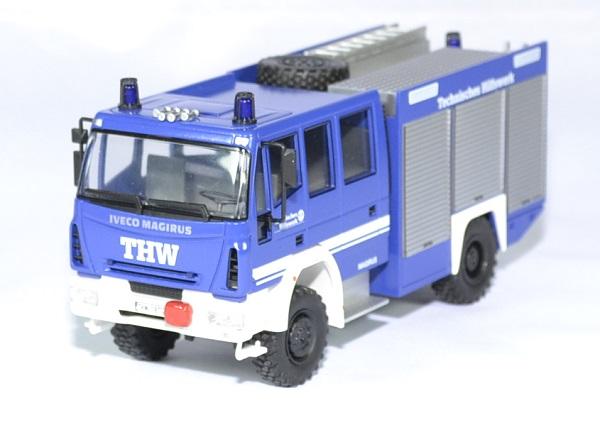 Iveco magirus hlf 20 16 thw pompiers schuco 1 43 autominiature01 1