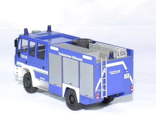 Iveco magirus hlf 20 16 thw pompiers schuco 1 43 autominiature01 2