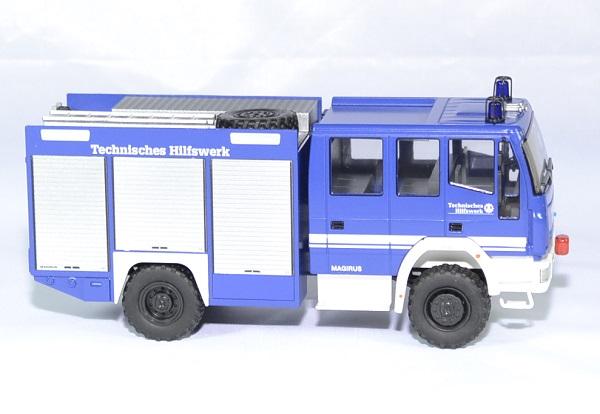 Iveco magirus hlf 20 16 thw pompiers schuco 1 43 autominiature01 3