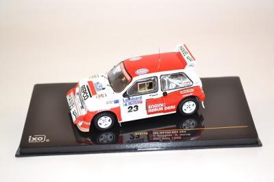 MG Metro 6R4 Rallye rac 1986 #23 Teesdale