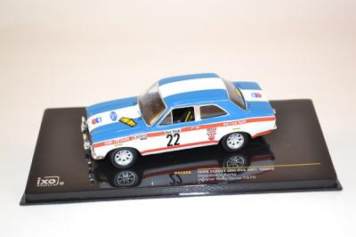 Ford Escort MK1 1600TC winner Ypres 1970 Ixo 1/43