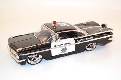 Chevrolet Impala Tuning Highway police 1959 jada Toys