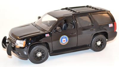Chevrolet Chevy Tahoe CIA presidential escort au 1/24 Jada Toys