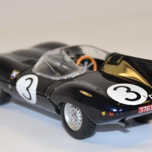 Jaguar tupe d 24h mans 1957 3 ixo 1 43 autominiature01 com 2