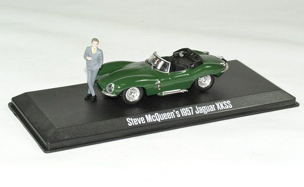 Jaguar xkss 1957 steve mc queen 1 43 greenlight autominiature01 1