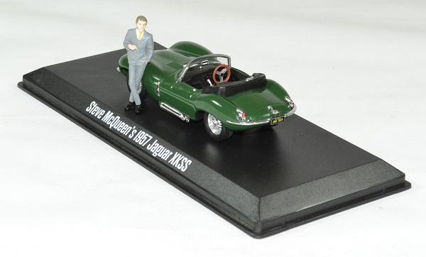 Jaguar xkss 1957 steve mc queen 1 43 greenlight autominiature01 2