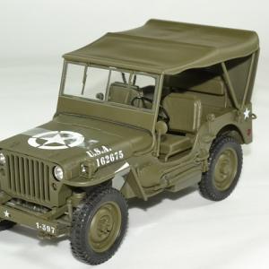 Jeep willys US Army 1944 Fermé bache