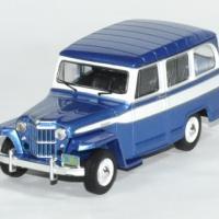 Jeep willys 1960 stationwagon 1 43 ixo autominiature01 1