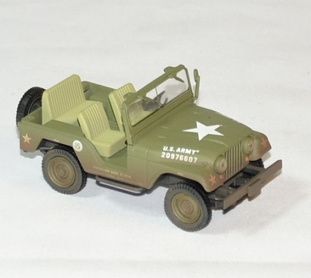 Jeep willys elvis presley 1 43 greenlight armee autominiature01 3