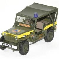 Jeep willys securite civile 1 43 oliex autominiature01 1