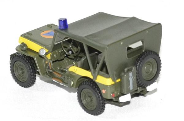 Jeep willys securite civile 1 43 oliex autominiature01 2