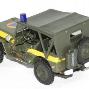 Jeep willys securite civile 1 43 oliex autominiature01 2