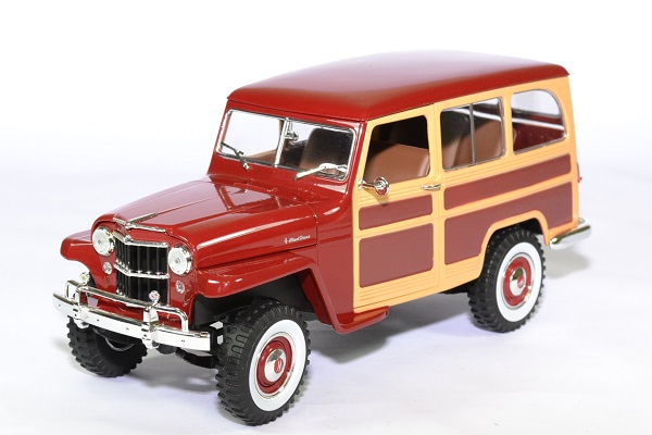 Jeep willys station wagon 1 18 lucky die cast autominiature01 1