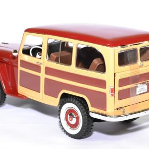 Jeep willys station wagon 1 18 lucky die cast autominiature01 2