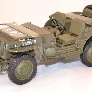 Jeep willys us army 1944 welly 18036 au 1 18miniature auto autominiature01 com 1