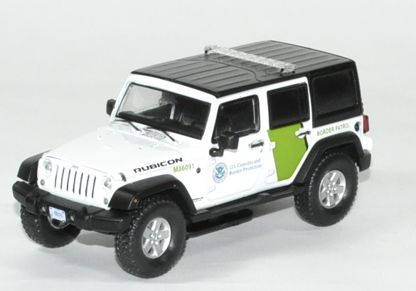 Jeep wrangler police douane 1 43 greenlight autominiature01 1