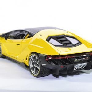 Lamborghini Centenario Jaune Version Premium Maisto 1 18