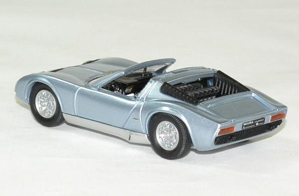 Lamborghini miura bertone 1968 cabriolet 1 43 rio autominiature01 2