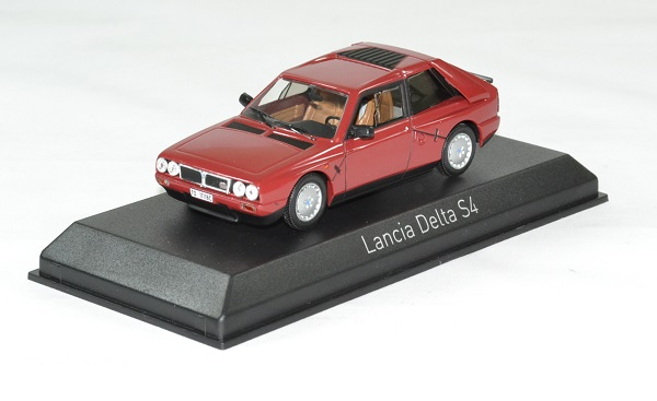 Lancia delta s4 rouge 1985 norev 1 43 autominiature01 1