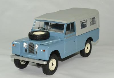 Land Rover 109 serie II pick up Baché bleu