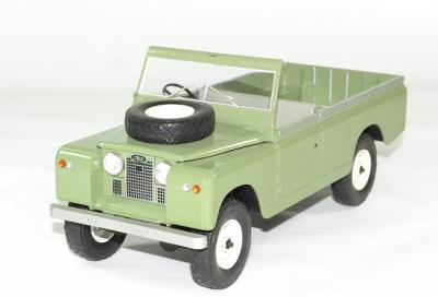 Land Rover 109 serie II pick up ouvert vert olive
