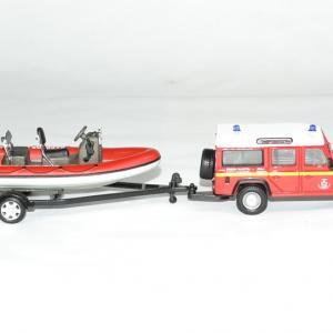Land rover bateau zodiac pompier 1 43 bburago autominiature01 3