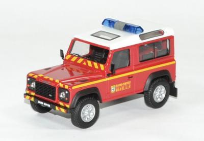 Land Rover defender court pompiers BMPM