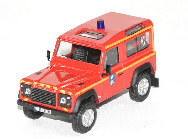 Land rover defender 90 pompier sdis 88 oliex 1 43 autominiature01 1