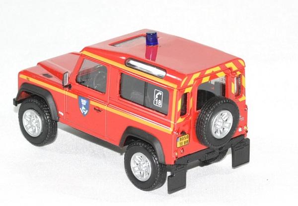 Land rover defender 90 pompier sdis 88 oliex 1 43 autominiature01 2