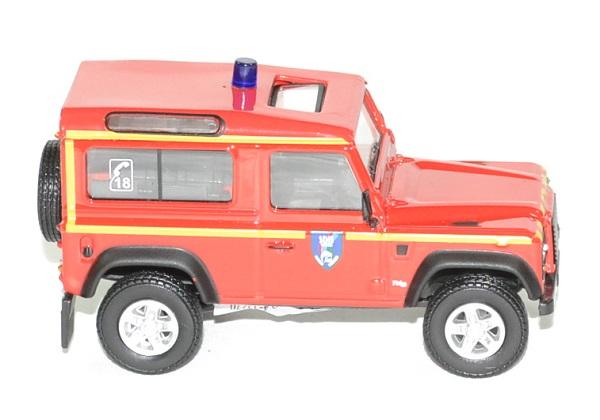 Land rover defender 90 pompier sdis 88 oliex 1 43 autominiature01 3