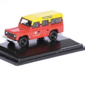 Land rover defender london fire brigade