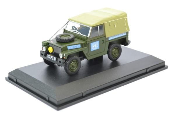 Land rover light nations unies 1 43 oxford autominiature01 43lrl001 1