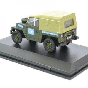 Land rover light nations unies 1 43 oxford autominiature01 43lrl001 2