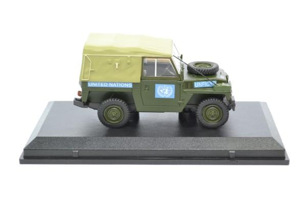 Land rover light nations unies 1 43 oxford autominiature01 43lrl001 3