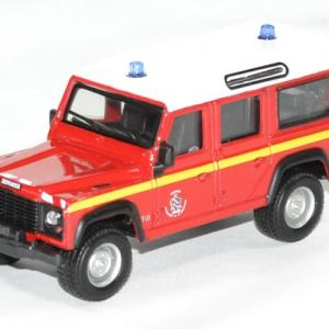 Land rover pompiers defender 1 50 bburago autominiature01 1