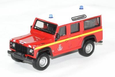 Land Rover defender 110 Sapeur Pompier