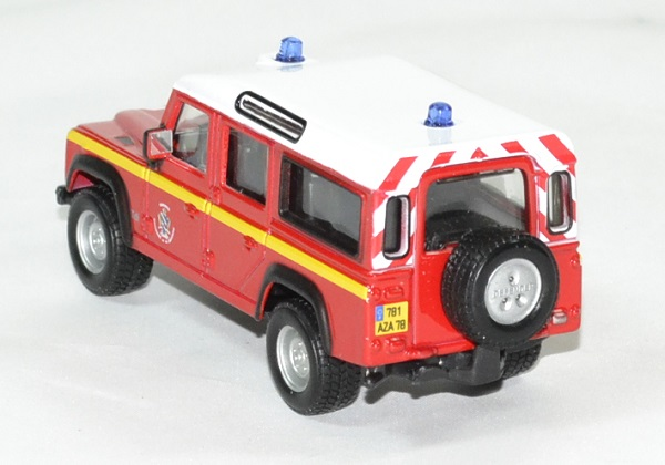 Land rover pompiers defender 1 50 bburago autominiature01 2