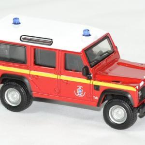 Land rover pompiers defender 1 50 bburago autominiature01 3