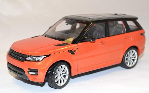 Land rover range sport orange welly 1 24 autominiature01 com 1