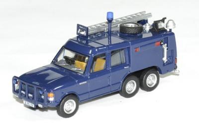 Land Rover Range Rover TACR2 Queen Flight firetruck airport bleu